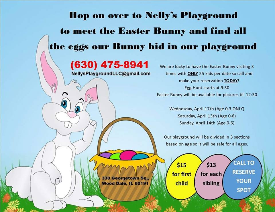 Easter Bunny @ Nelly's Playground