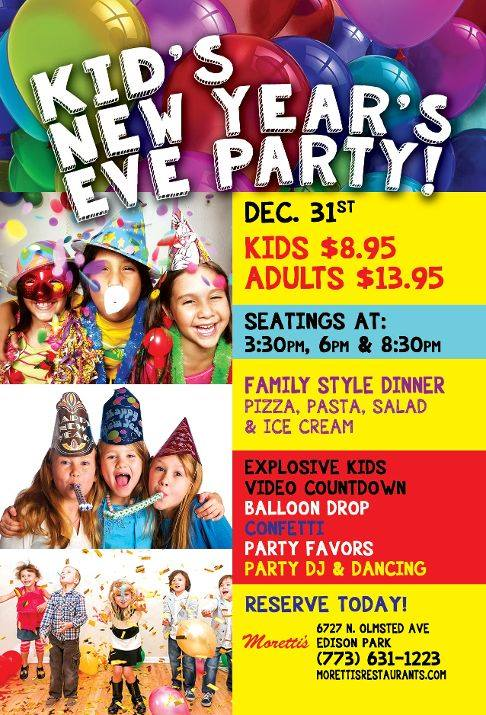Kid's New Year's Eve Party