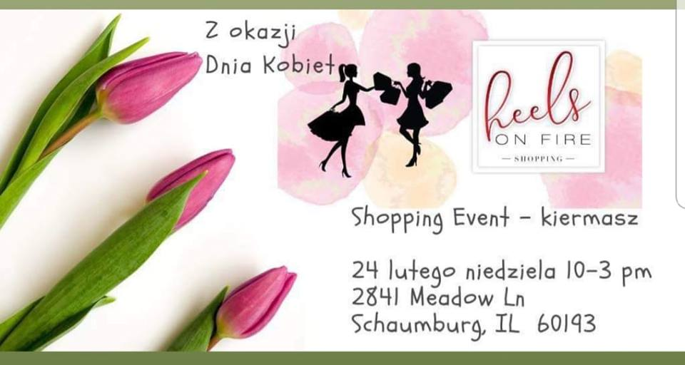 Women's day shopping event